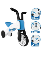 Chillafish Bunzi Dreirad 2-in-1 Balance Bike Blau