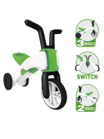 Chillafish Bunzi Dreirad 2-in-1 Balance Bike Grün